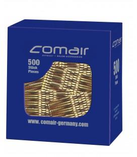 Comair Haarspelden Pretty Fashion Golvend Zwart 48mm 500 Stuks