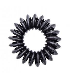 A&A Haar Elastiekjes Telefoonkabel Zwart 11 Stuks