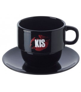 Kis Coffeecups in Holder 6pcs