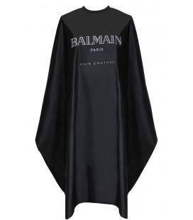 Balmain Black Cutting Cape - Kapmantel
