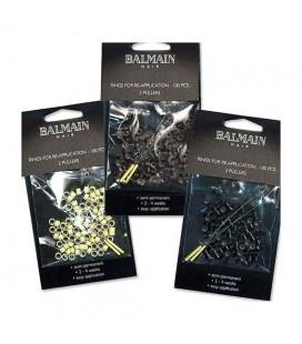 Balmain 100 Black Rings, 2 Pullers