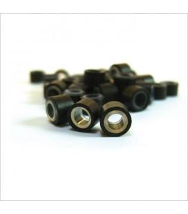 Balmain 100 Brown Rings, 2 Pullers