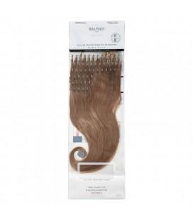 Balmain Fill-In Micro Ring Extensions Human Hair 40cm 50pcs 8A.9A