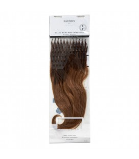 Balmain Fill-In Micro Ring Extensions Human Hair 40cm 50pcs 6G.8G Ombre