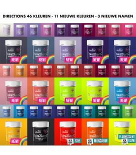 Directions Kleurenkaart Strähnensynfonie 46 Kleuren