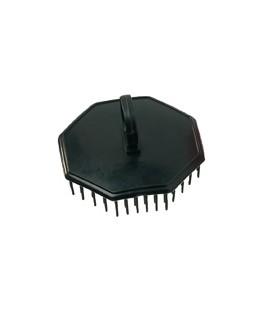 Comair Shampoo- en hoofdmassageborstel zwart