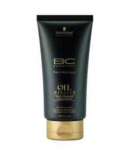 Schwarzkopf BC Oil Miracle Gold Shimmer Conditioner (150ml)