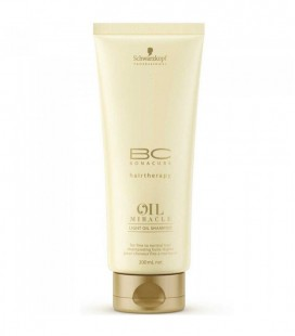 Schwarzkopf BC Oil Miracle Light Shampoo (200ml)