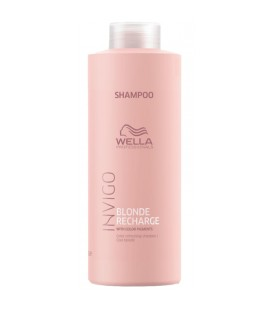 Wella Invigo Blonde Recharge Cool Blonde Shampoo 1000ml