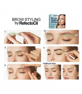 RefectoCil Brow Styling Strips 4 behandelingen