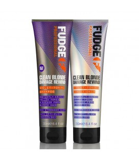 Fudge Clean Blonde Damage Rewind Violet Duo 2 x 250ml