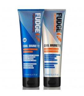 Fudge Cool Brunette Blue Duo 2 x 250ml