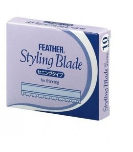 Feather Styling Blades 2in1 10St