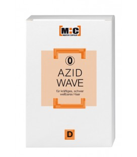 M:C Azid Wave D Set 0 for strong, difficult to perm hair  2 x 80 ml