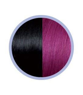 Seiseta Crazy  1B-62 Zwart-Roodviolet  50-55cm