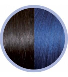 Seiseta Crazy  4-59 Donkerkastanjebruin-Blauw  50-55cm