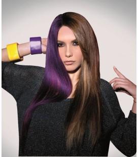 Seiseta Crazy  4-63 Donkerkastanjebruin-Violet  50-55cm