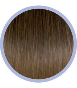 Flat Ring-On Ombre Line  8-DB4 Bruin-Goud  50-55cm