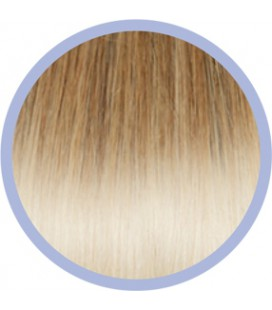 Flat Ring-On Ombre Line  DB4-1001 Goud-Platinablond  50-55cm