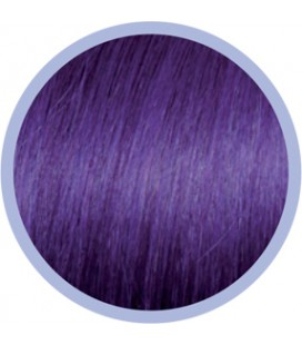 Flat Ring-On Crazy Line  Violet .  50-55cm