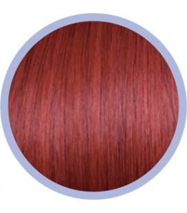 Flat Ring-On Crazy Line  Red   .  50-55cm