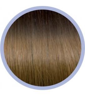 Sticker Ombre Line  4-14 Donker Kastanjebruin-Blond  50-55cm